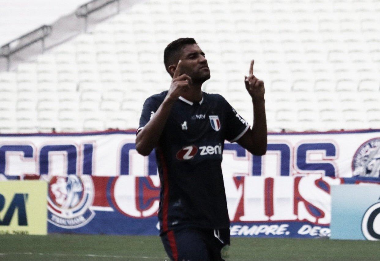 Isaque marca seu primeiro gol com a camisa do Fortaleza