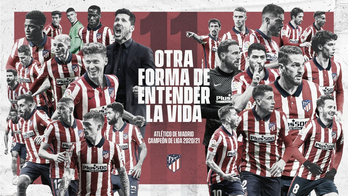 Atlético de Madrid, CAMPEÓN de la temporada 20/21