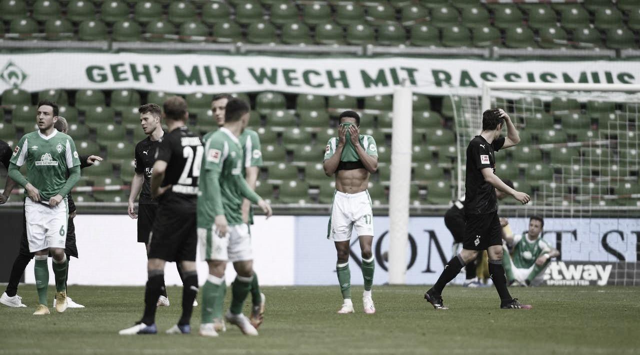Não deu! Werder Bremen perde para M'gladbach em casa e é rebaixado à 2.Bundesliga