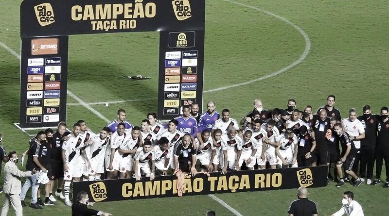 Vasco vence Botafogo nos pênaltis e conquista a Taça Rio