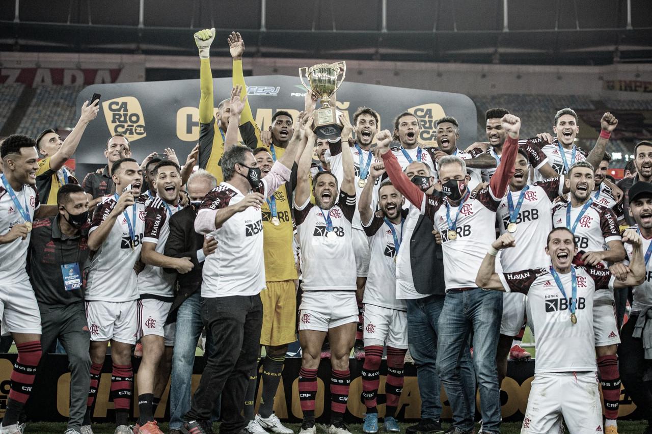 Líder absoluto! Flamengo conquista Cariocão pela 37ª vez e aumenta vantagem histórica