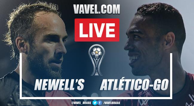 Gols e melhores momentos Newell's Old Boys 1 x 1 Atlético-GO pela Sul-Americana
