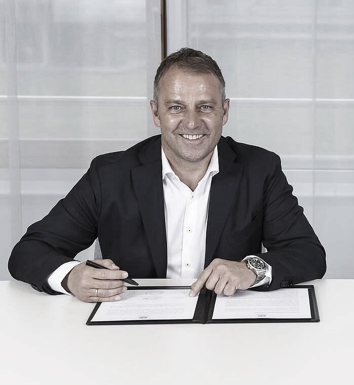Hans Flick, nuevo entrenador de la Die Mannschaft