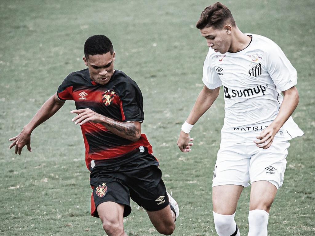 Esperança de gols no Santos, Deivid mira recuperação do Peixe no Brasileirão sub-17