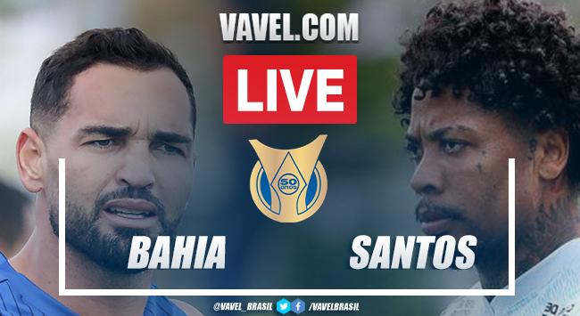 Gols e Melhores momentos de Bahia 3 x 0 Santos pelo Campeonato Brasileiro 2021