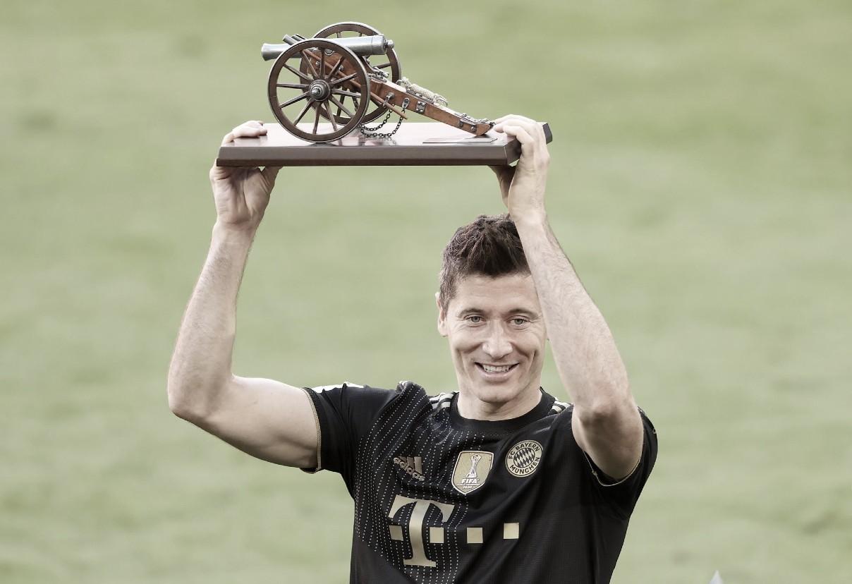 """Robert Lewandowski, """"futbolista del año"""" en Alemania"""