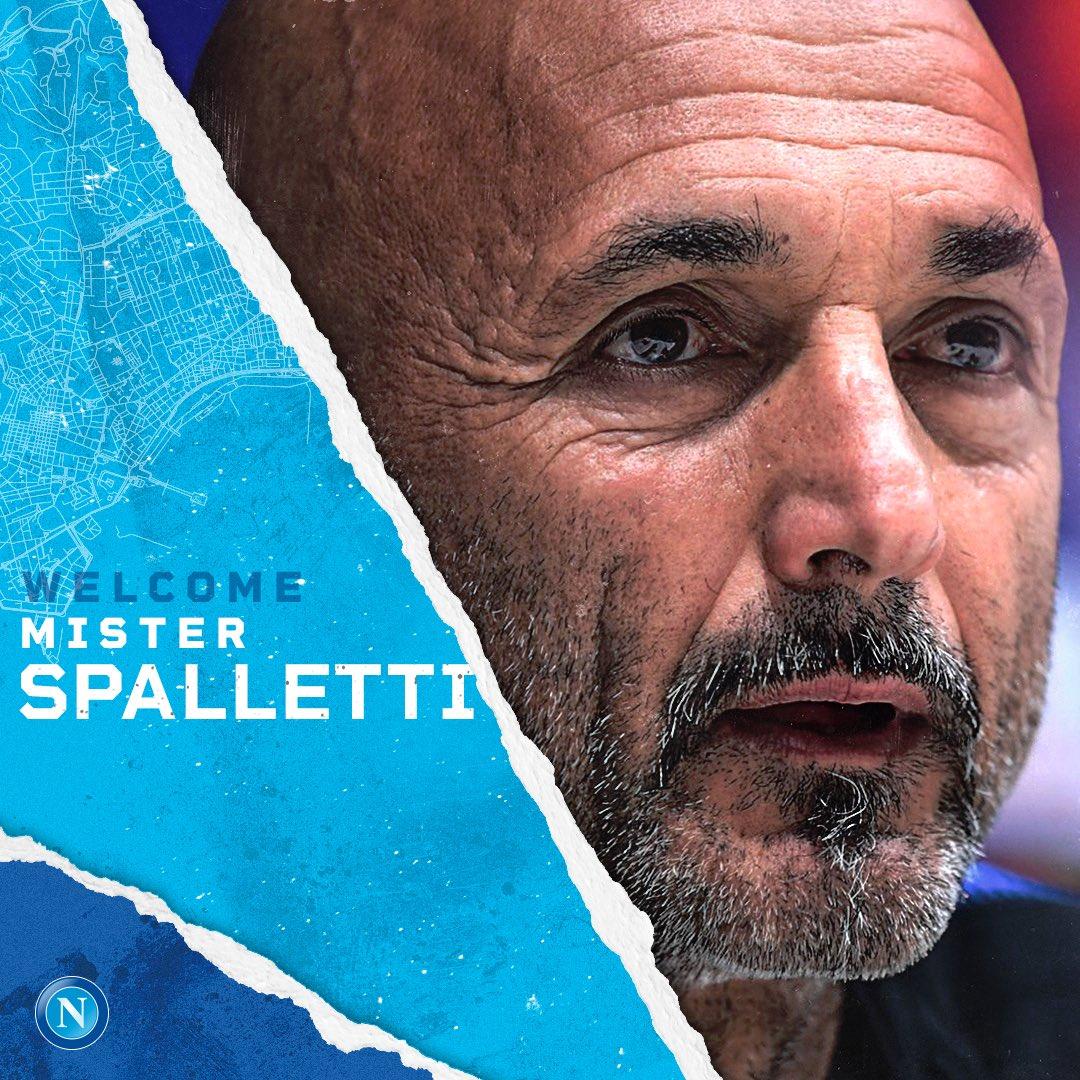 Luciano Spalletti, nuevo DT del Nápoles