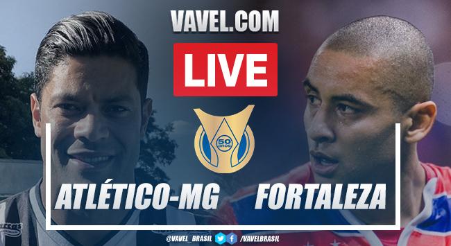 Gols e melhores momentos Atlético-MG x Fortaleza pelo Campeonato Brasileiro (1-2)