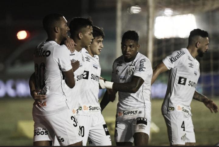 Kaio Jorge e Marinho comandam vitória do Santos diante do Cianorte