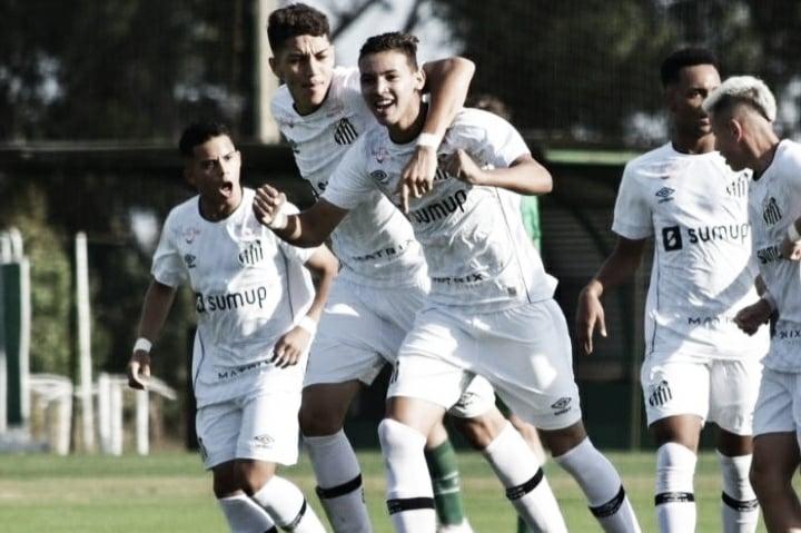 Deivid comanda vitória do Santos diante da Chapecoense no sub-17