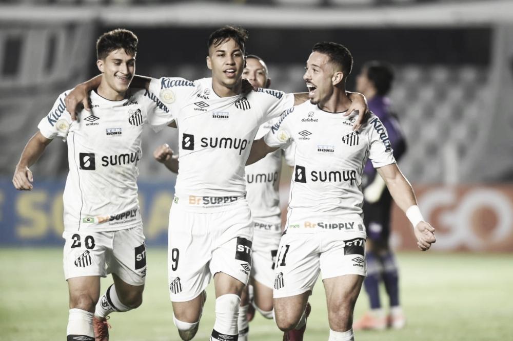 Santos sai na frente, vê Ceará empatar, mas busca primeira vitória no Brasileirão