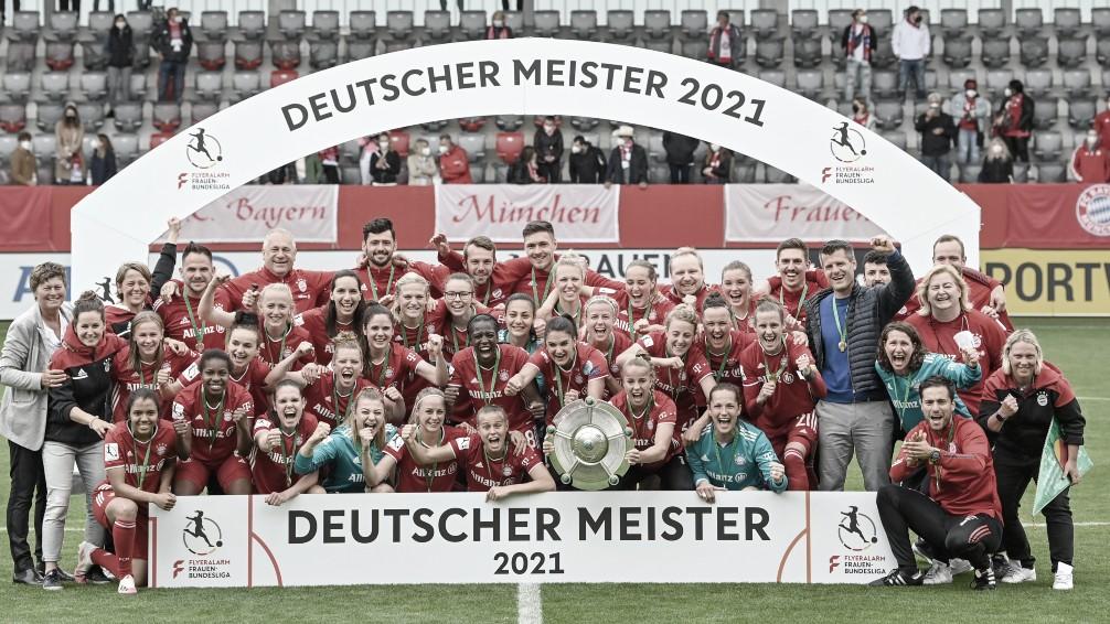FC Bayern Femenino, CAMPEÓN de Alemania 20/21