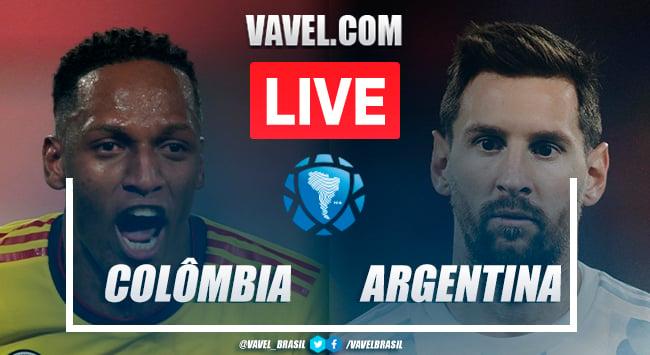 Colômbia x Argentina AO VIVO (2-2)