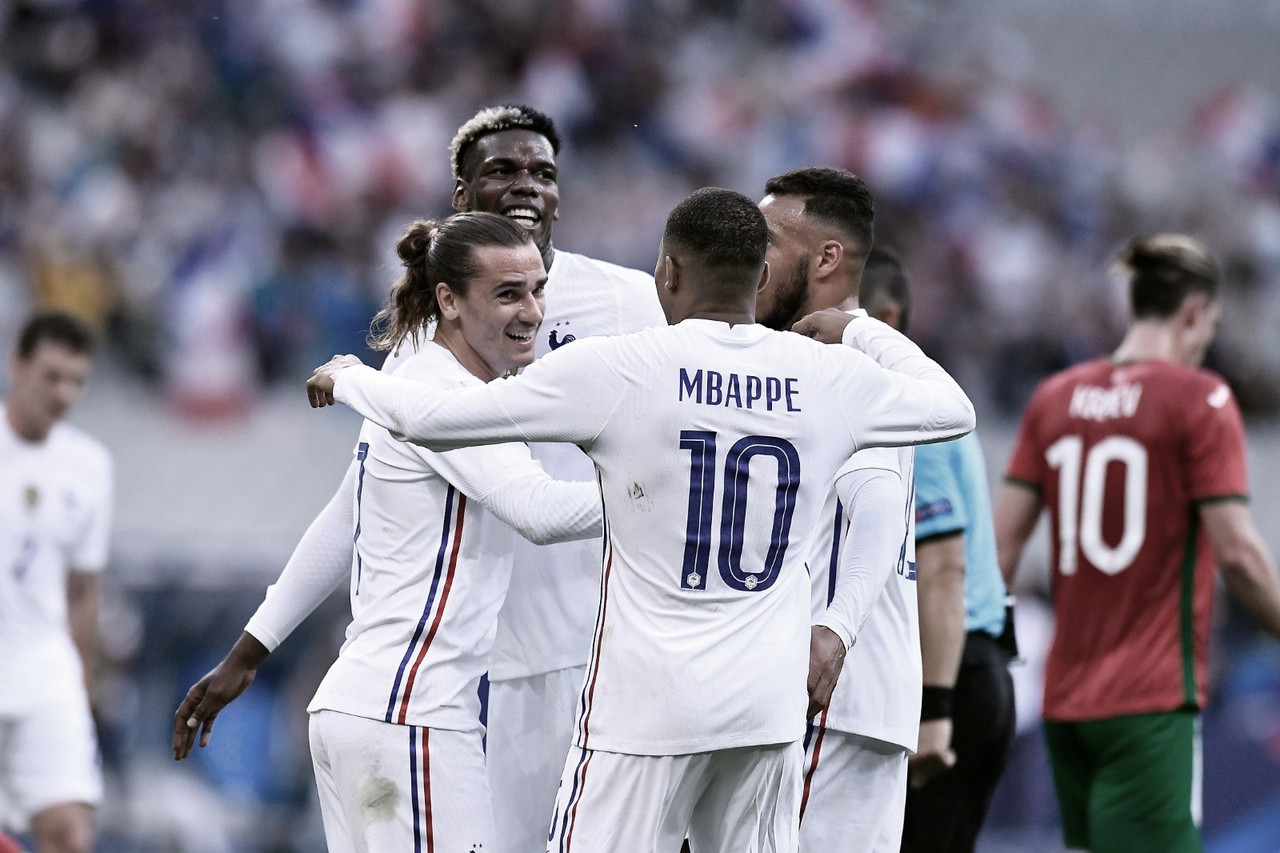 Francia goleó a Bulgaria y ya está listo para la Euro 2020 (3-0)
