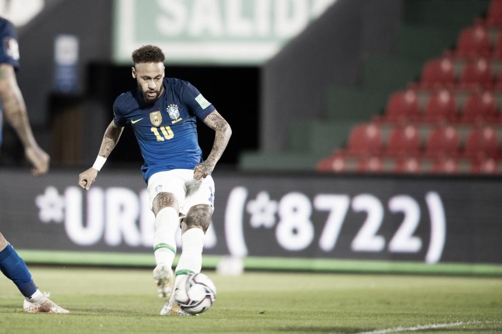 Com gol no fim, Brasil vence Paraguai e se mantém invicto nas Eliminatórias