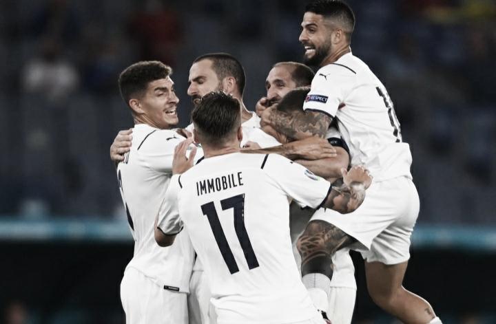 Itália dá show sobre a Turquia e estreia com vitória na Eurocopa