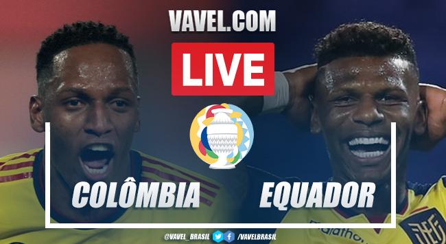 Gol e Melhores momentos de Colômbia 1 x 0 Equador