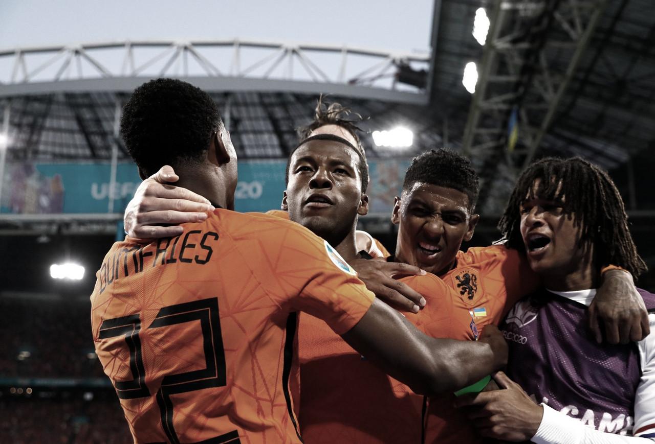 Em jogo de cinco gols, Holanda vence Ucrânia na estreia da Euro