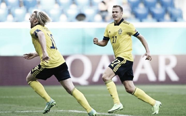 Suécia supera Eslováquia e embola Grupo E da Euro 2020