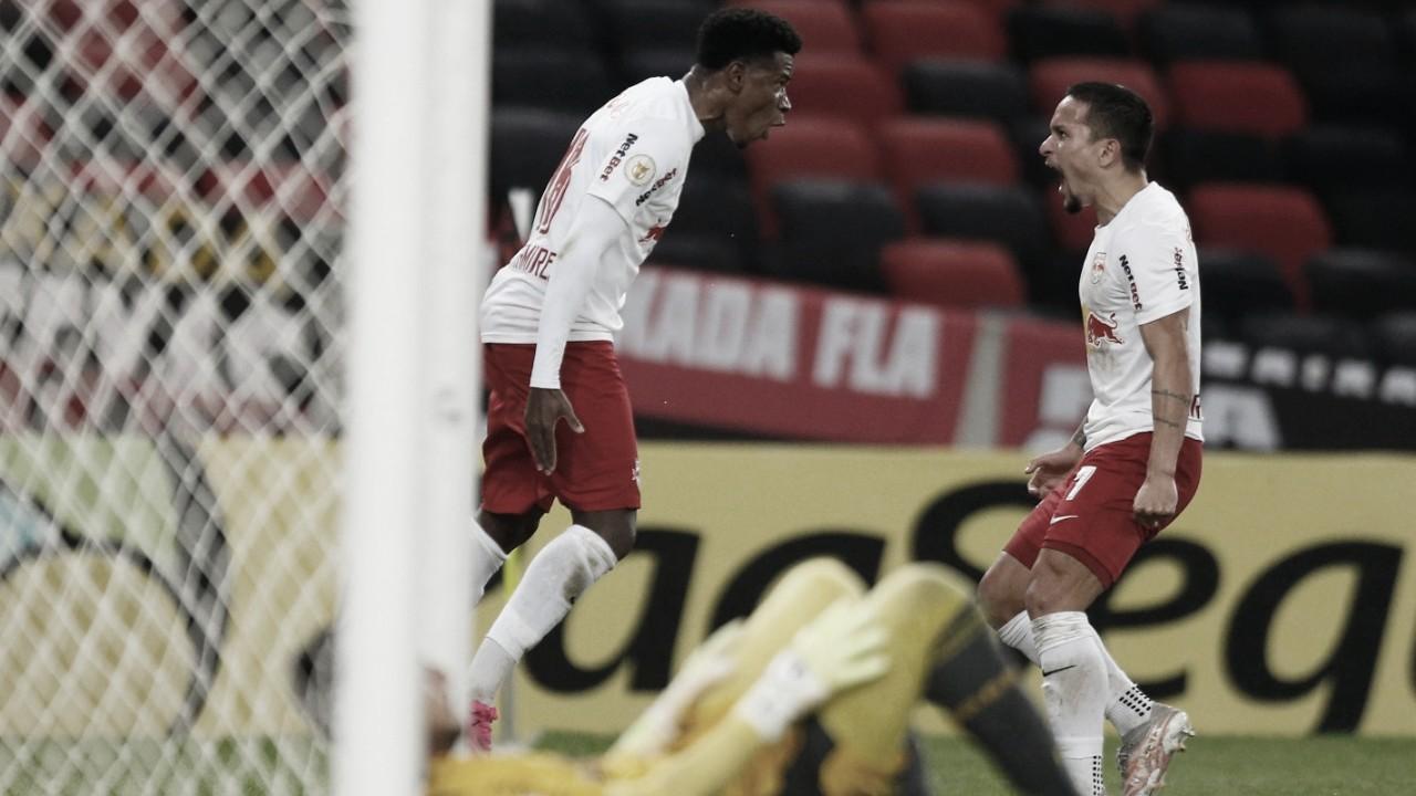 RB Bragantino marca no último minuto e derrota Flamengo no Maracanã