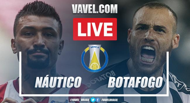 Gols e melhores momentos de Náutico x Botafogo pela Série B 2021 (3-1)