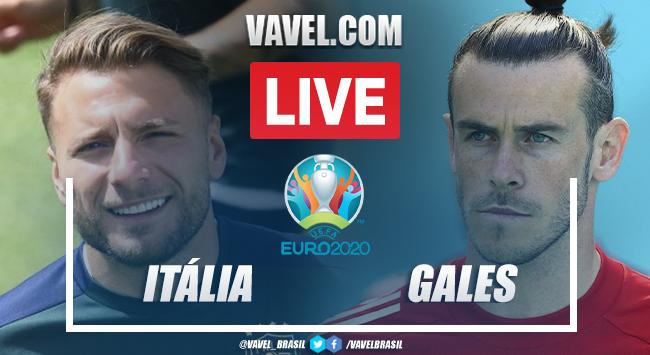 Gol e melhores momentos de Itália 1 x 0 País de Gales pela Eurocopa
