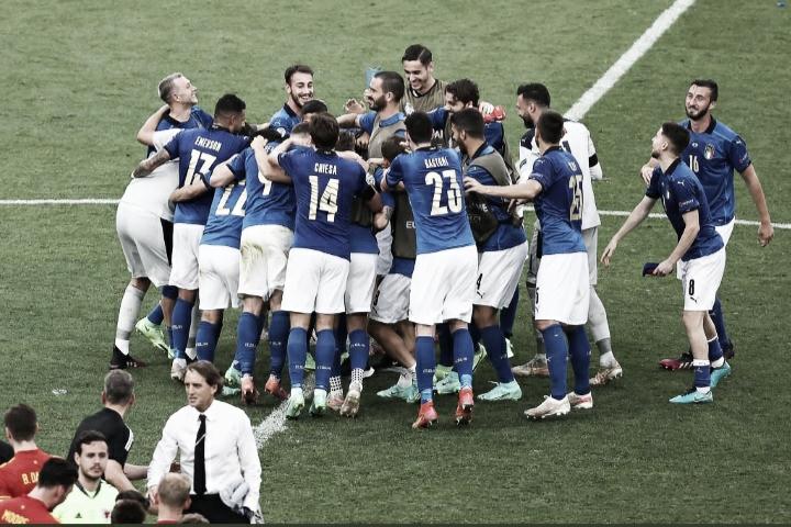 Itália bate País de Gales e se classifica às oitavas da Euro com 100%