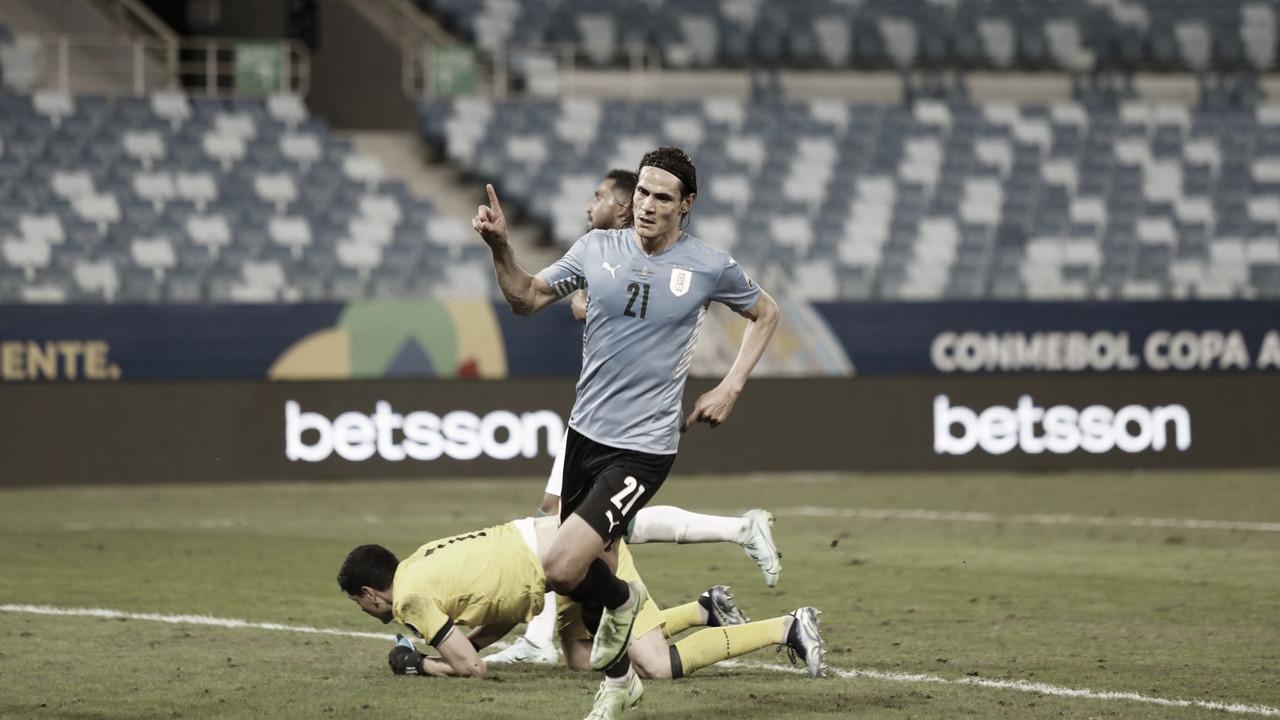 Uruguai domina Bolívia, vence e se classifica ao mata-mata da Copa América