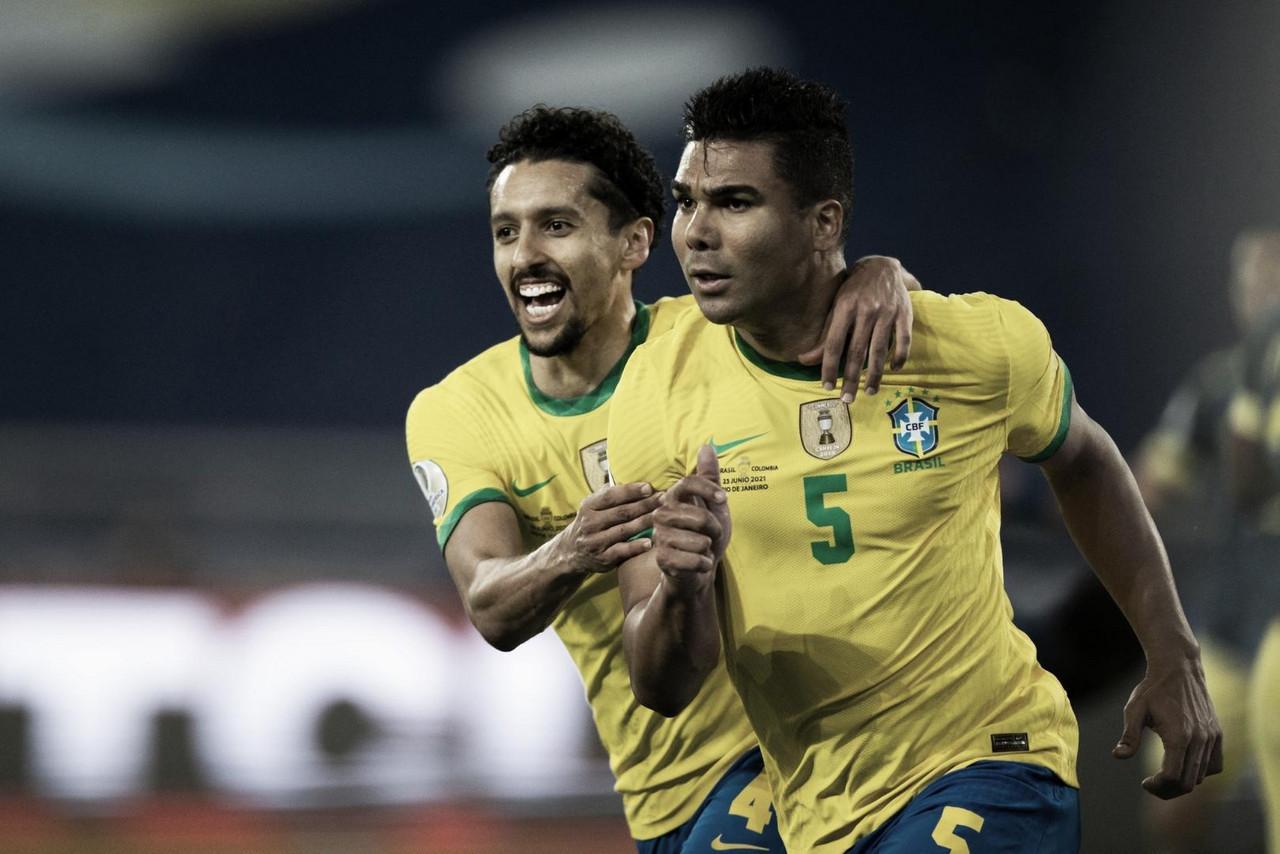 Casemiro destaca con Brasil