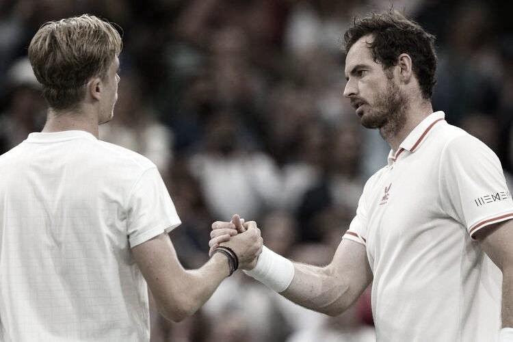 Desgastado, Murray perde para Shapovalov e é eliminado em Wimbledon