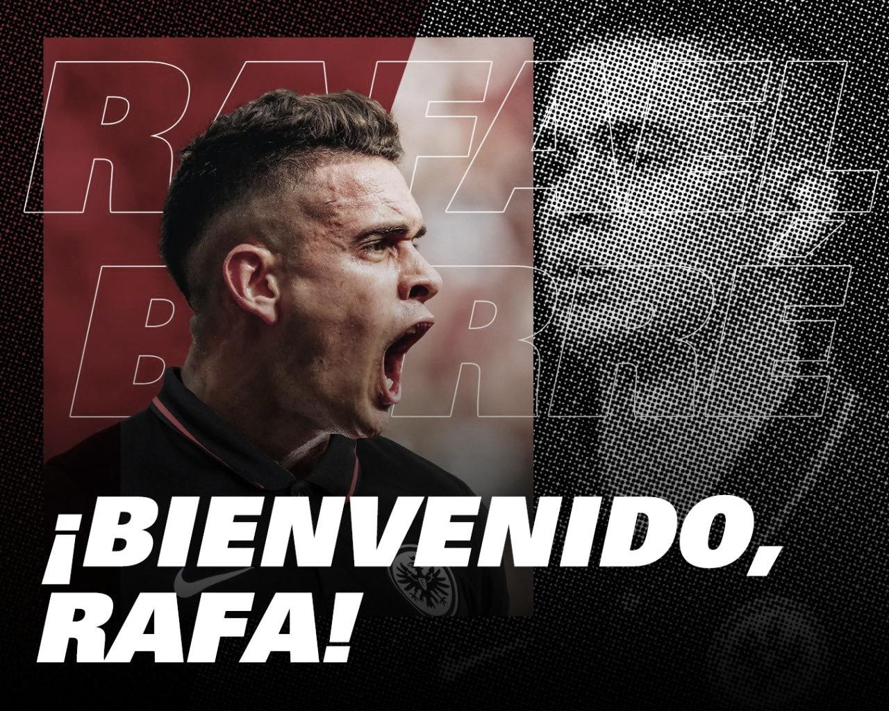 Santos Borré, flamante refuerzo del Eintracht Frankfurt