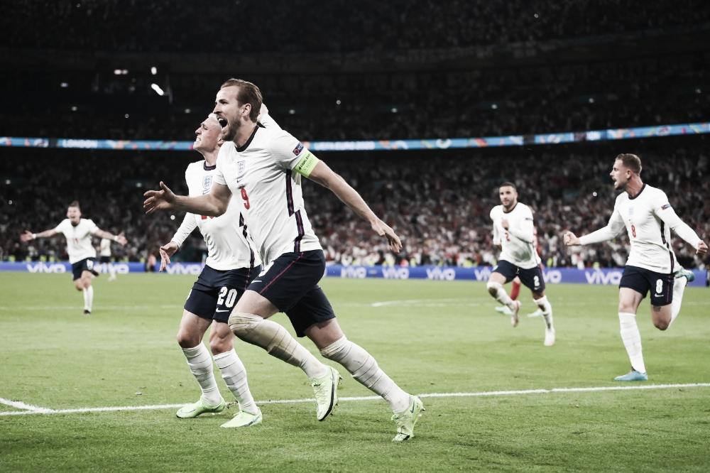 Com gol na prorrogação, Inglaterra vence Dinamarca de virada e vai à final da Euro