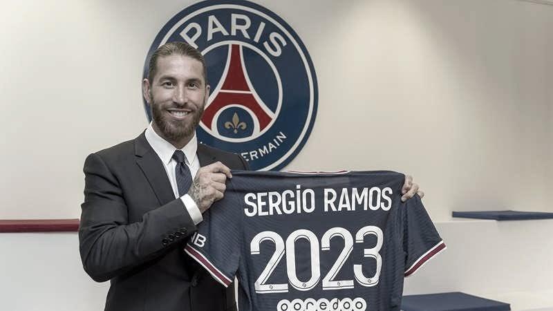 PSG oficializa contratação do zagueiro Sergio Ramos, ex-Real Madrid