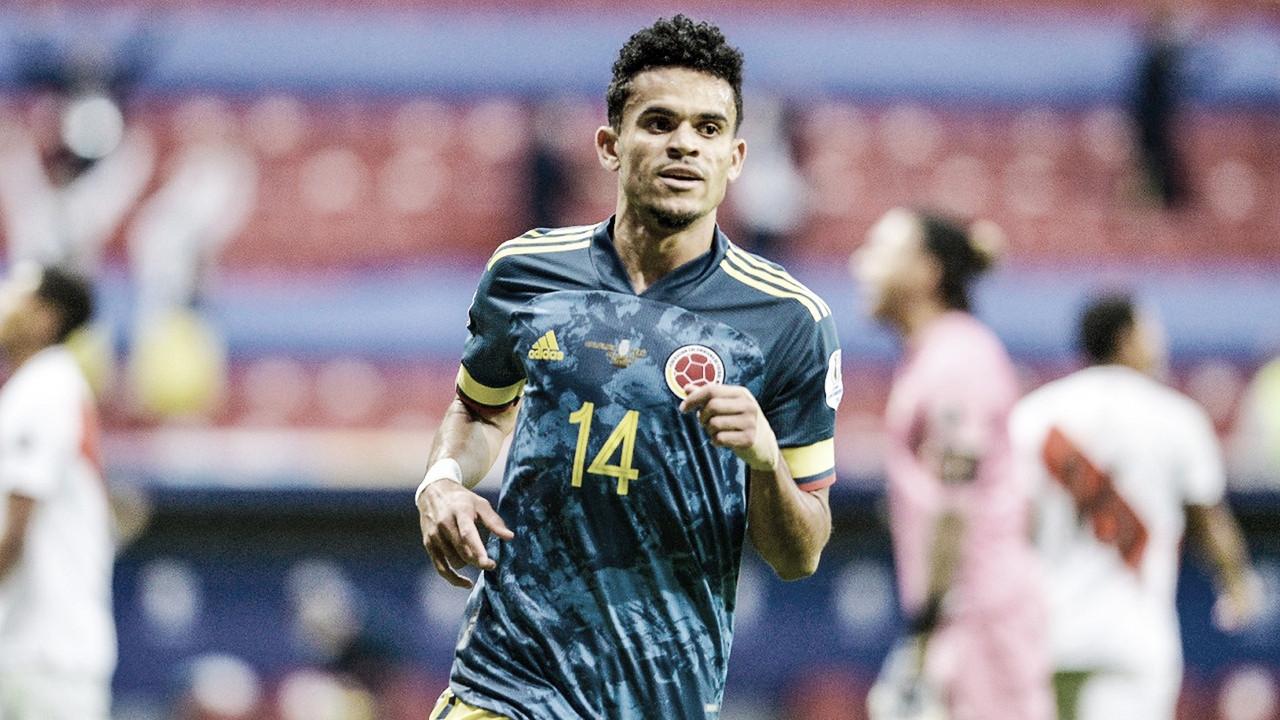 Luís Díaz, el mejor jugador de Colombia en la obtención del tercer puesto