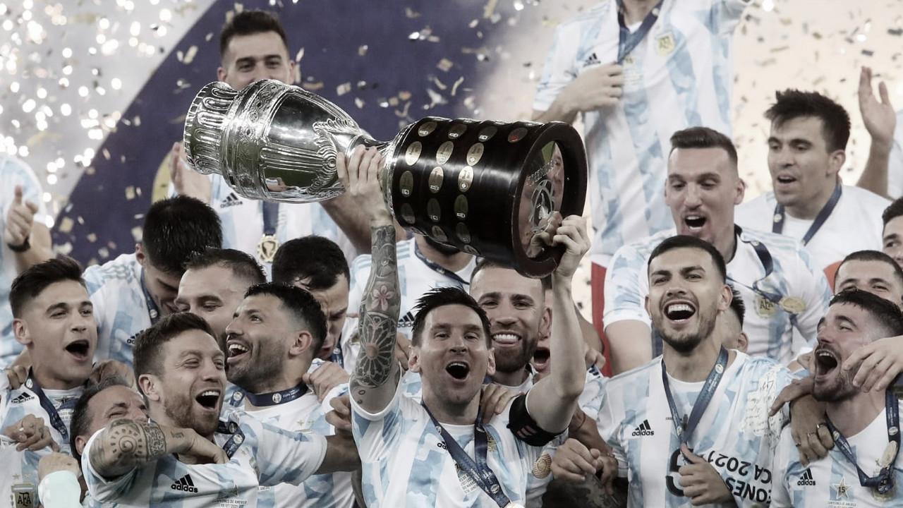 Argentina conquista sua 15ª Copa América e se iguala ao Uruguai; confira ranking de campeões
