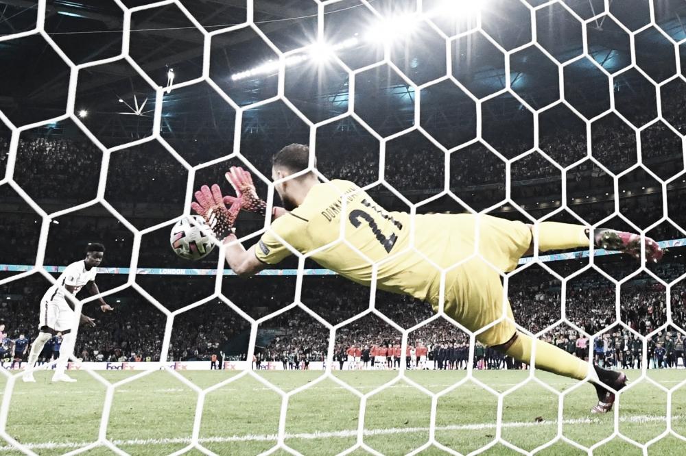 Donnarumma brilha nos pênaltis, Itália bate Inglaterra em Wembley e é campeã da Eurocopa 2020