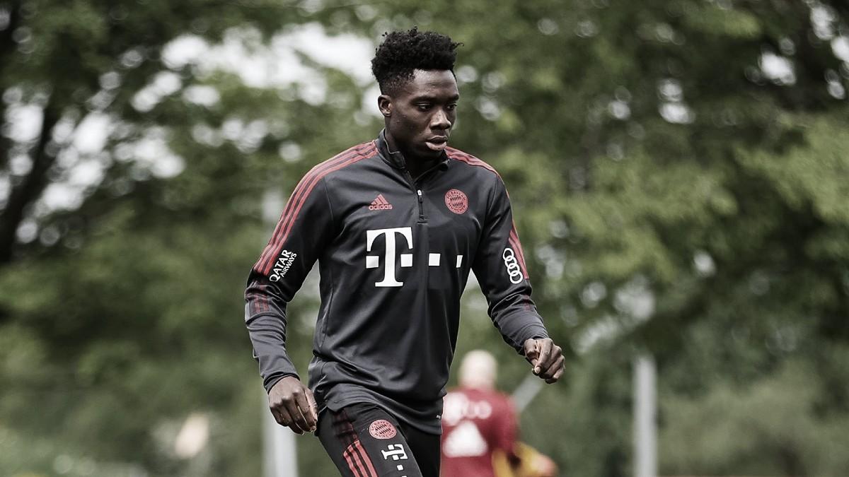 Alphonso Davies, baja indefinida para el Bayern Múnich