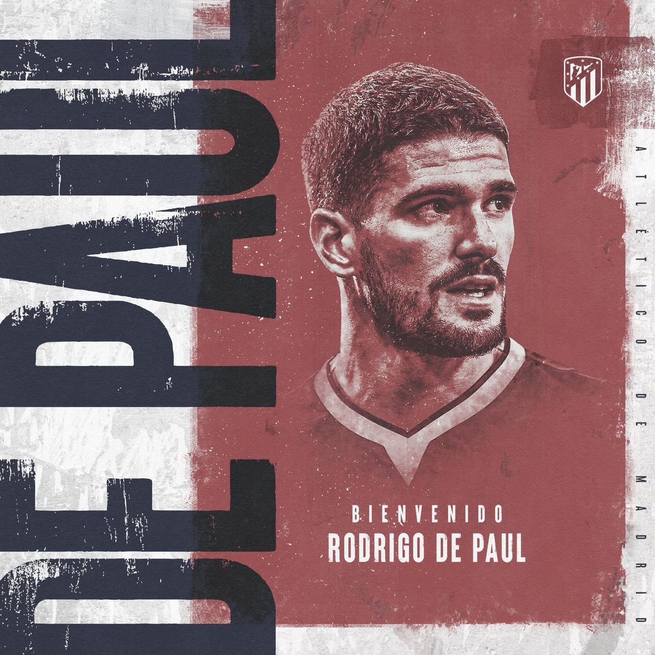 De Paul, fichaje estrella del Atlético de Madrid