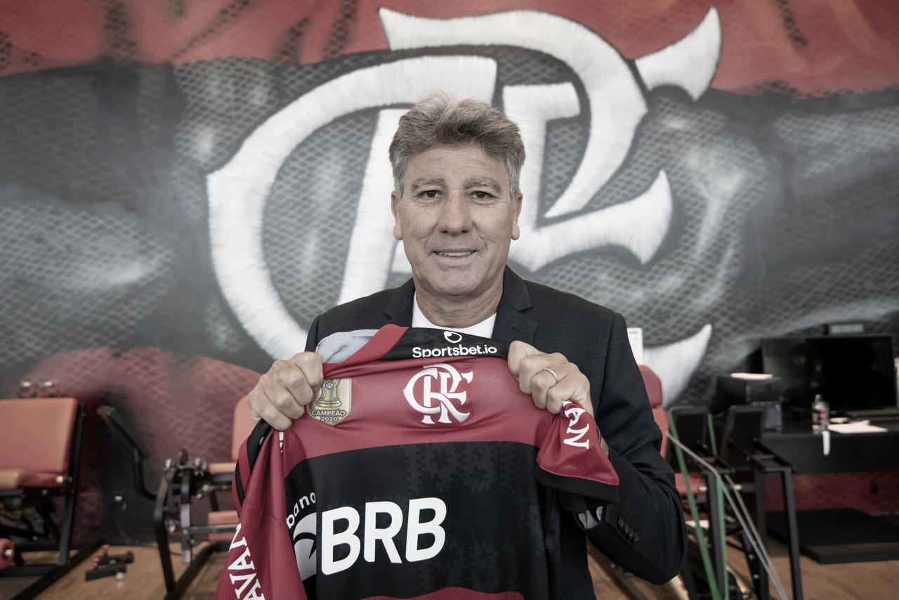 Sonho realizado e projeção de um Flamengo ofensivo: a coletiva de Renato Gaúcho na Gávea