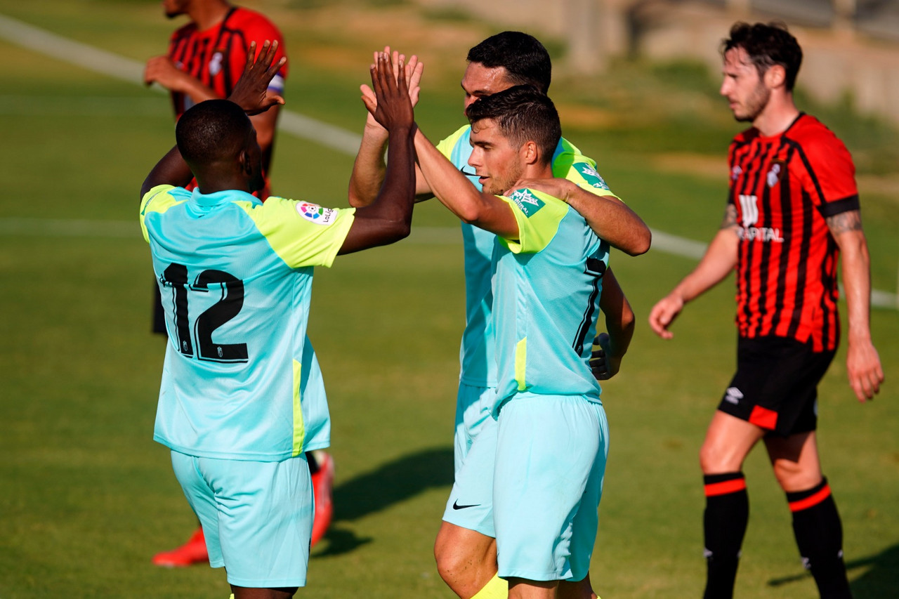 El Granada CF de Robert Moreno se estrena con triunfo en pretemporada