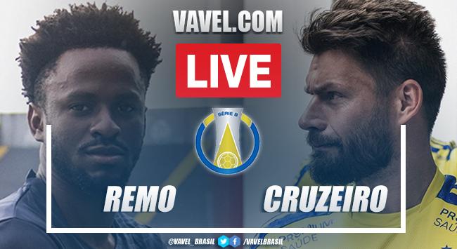 Gols e melhores momentos Remo x Cruzeiro pela Série B (1-0)