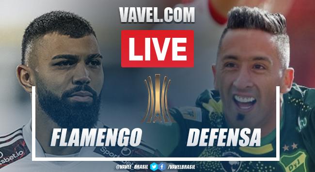 Gols e melhores momentos de Flamengo 4x1 Defensa y Justicia pela Libertadores