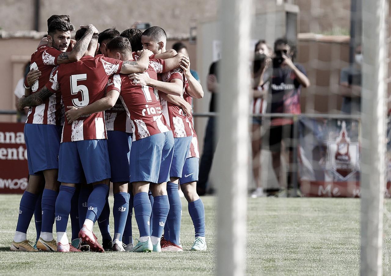El Atlético de Madrid consiguió la primera victoria de la pretemporada
