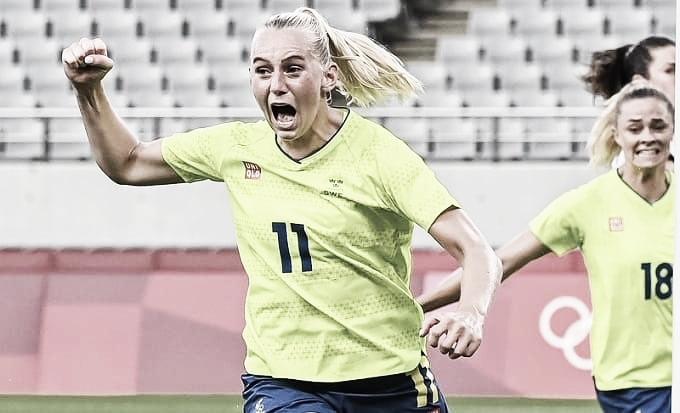 Gols e melhores momentos para Nova Zelândia 0x2 Suécia pelas Olimpíadas de Tóquio