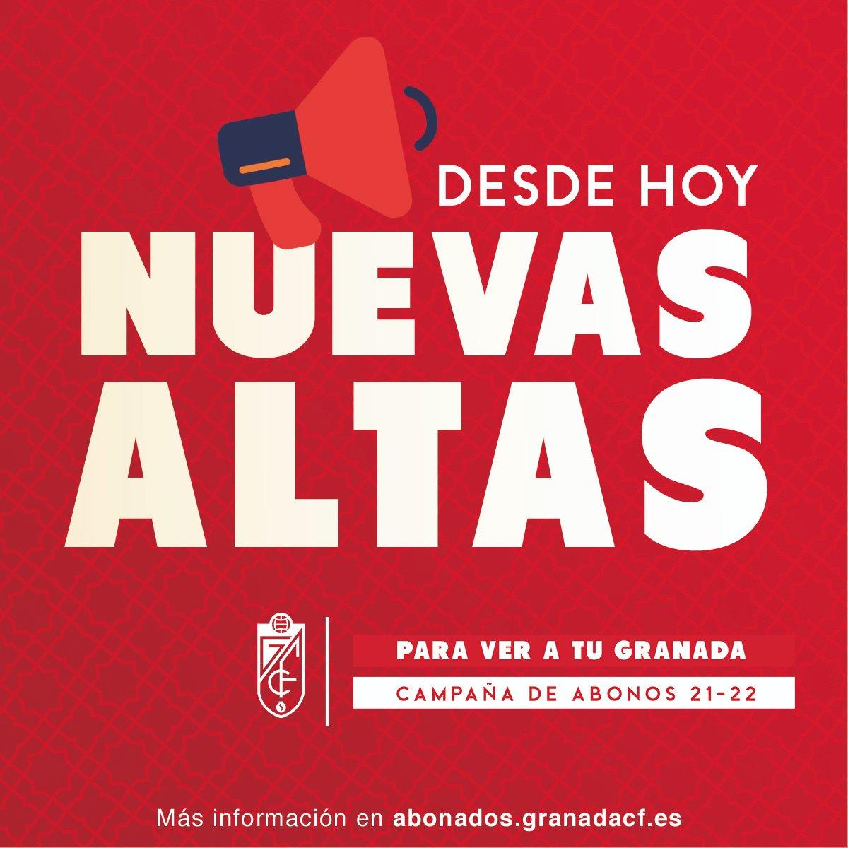 El Granada CF abre el plazo para los nuevos abonos para la temporada 21-22