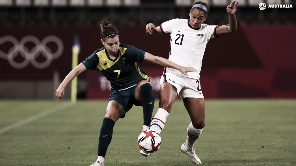 Goals and Highlitghts: Great Britain 3-4 Australia in Women's Soccer in Tokyo Olympics
