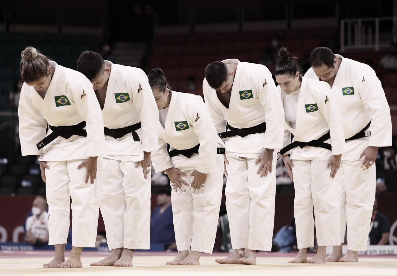 Brasil perde na repescagem para Israel e é eliminado na disputa de equipes mistas no judô