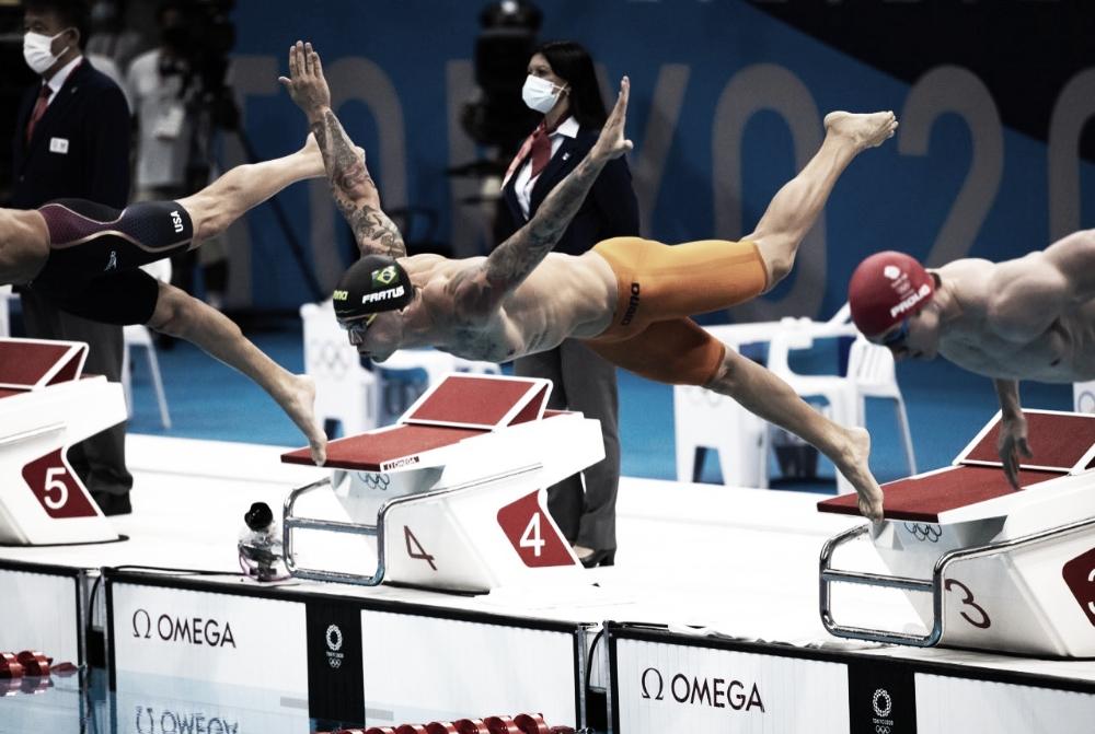 Bruno Fratus conquista medalha de bronze nos 50m livre