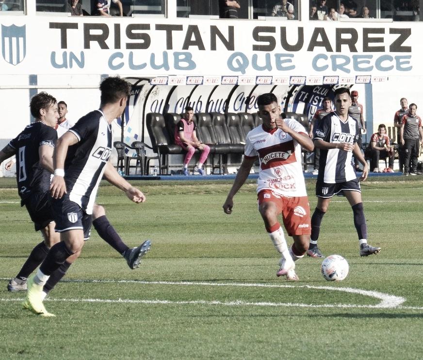 """El """"Gallito"""" cayó por 2 a 0 en su visita a Tristán Suárez"""