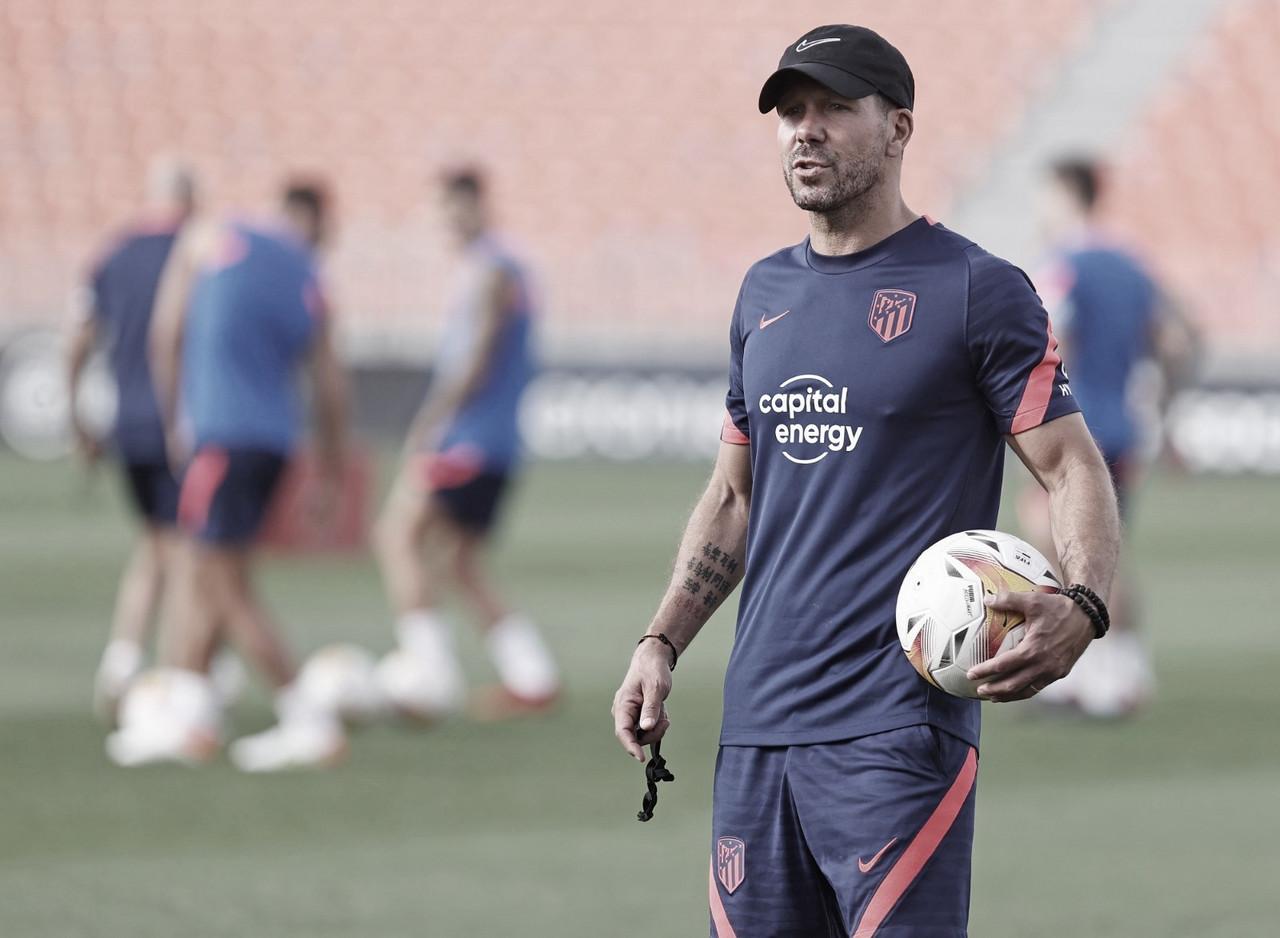 """Simeone: """"Nuestro objetivo es seguir siendo competitivos como hace 9 años"""""""